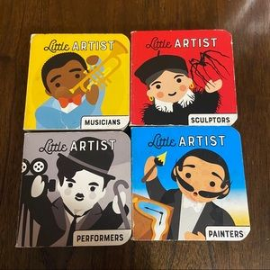 🛍3/$25 Little artist board books (set of four)